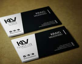#187 untuk Design some Business Cards for KLV Studio oleh sixthsensebd