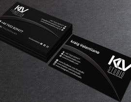 #185 for Design some Business Cards for KLV Studio by nuhanenterprisei