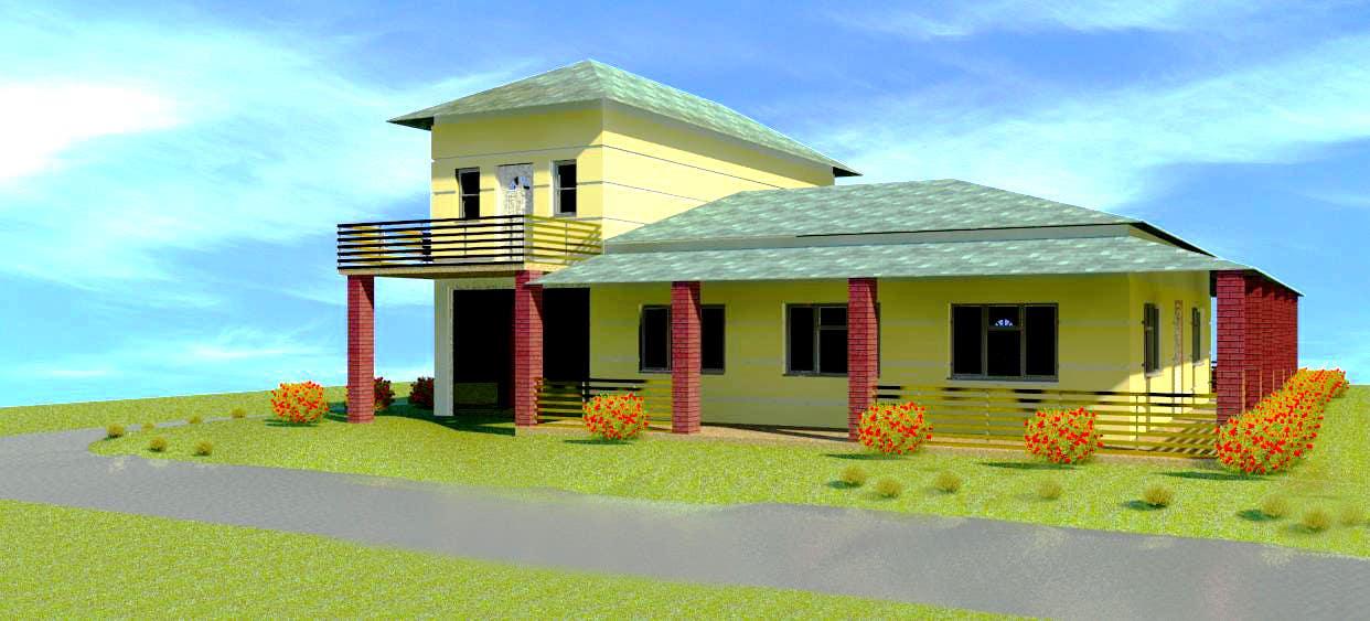 Bài tham dự cuộc thi #53 cho Model a home and add new elements