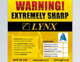 #4 for Product Packaging Warning Label by lukzzzz