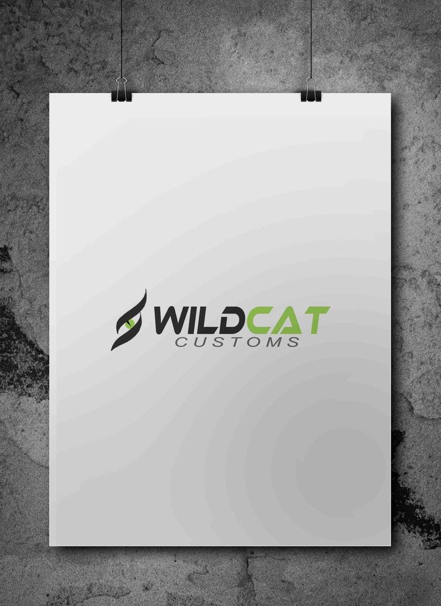 Kilpailutyö #61 kilpailussa Design a Logo for Wild Cat Customs