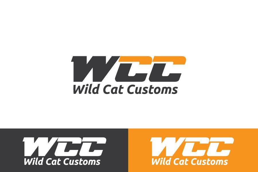Kilpailutyö #46 kilpailussa Design a Logo for Wild Cat Customs