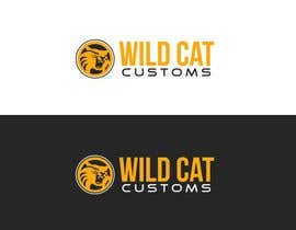 #35 untuk Design a Logo for Wild Cat Customs oleh AlphaCeph