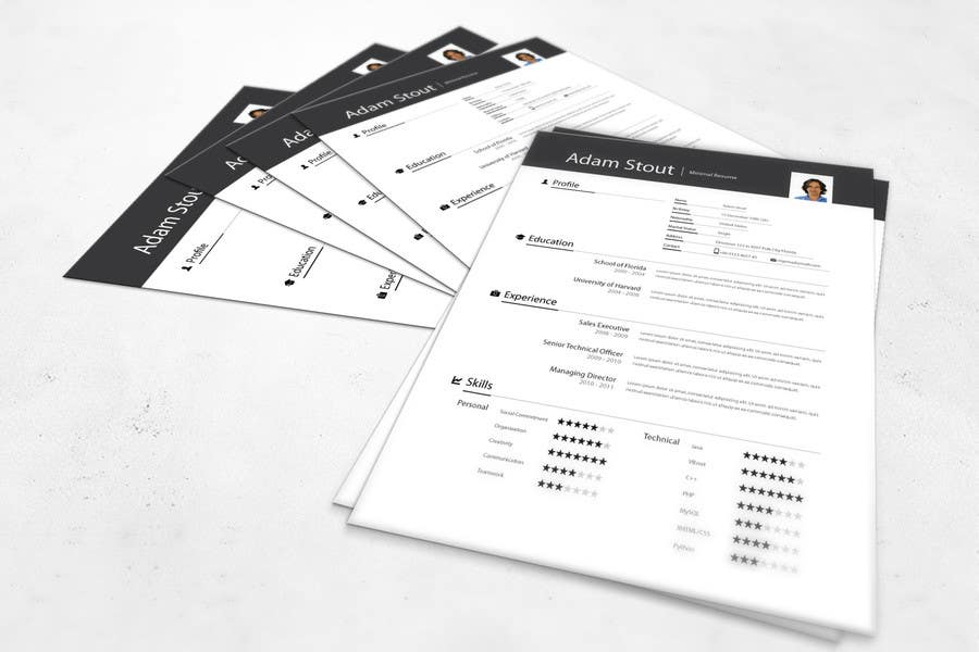 #1 for Premium Quality Resume Design (PSD) - I'LL SELECT MULTIPLE WINNERS! by vikramv91