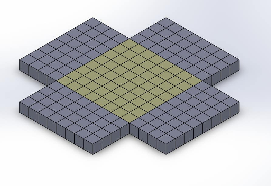 Contest Entry #                                        5                                      for                                         create the smallest possible shape