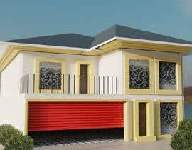 Nro 8 kilpailuun Modern House Exterior Design or  Facade/Frontage Design based on Vernacular Architecture käyttäjältä Damai15