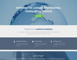 #7 for Design a Website Mockup for Oxford Translation by jituchoudhary