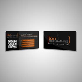 #7 for Design some Business Cards for Ion Programming by vgasbali