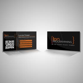 #12 for Design some Business Cards for Ion Programming by vgasbali