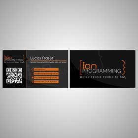 #13 for Design some Business Cards for Ion Programming by vgasbali