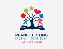 #98 for Planet Editing Publishing by Designnwala
