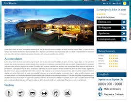 #42 untuk Website Design for Honeymoons website oleh nitinatom