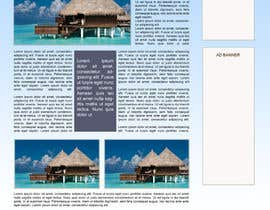 #37 for Website Design for Honeymoons website by andrewdigger