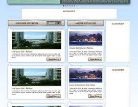 andrewdigger tarafından Website Design for Honeymoons website için no 40