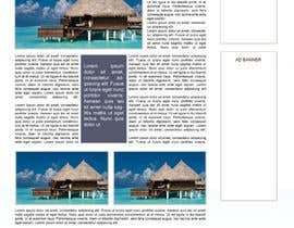#44 for Website Design for Honeymoons website by andrewdigger