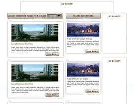 #45 untuk Website Design for Honeymoons website oleh andrewdigger