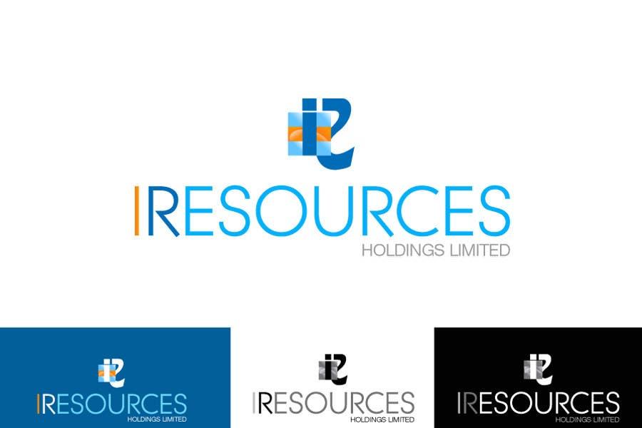 Inscrição nº 130 do Concurso para Logo Design for iResources Holdings Limited