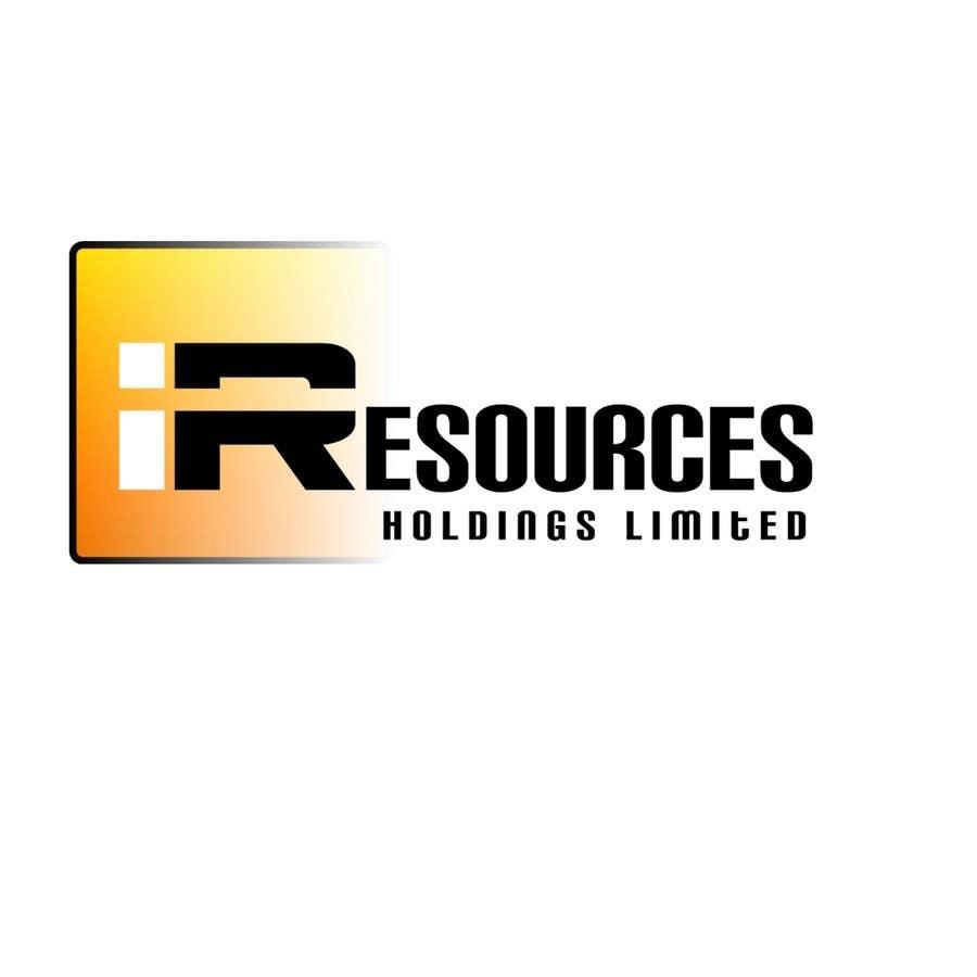 Inscrição nº 258 do Concurso para Logo Design for iResources Holdings Limited
