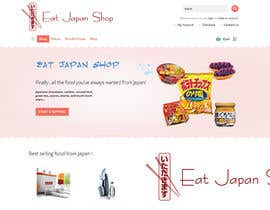 nº 9 pour Logo Design for Eat Japan Shop website par IIDoberManII