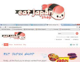 nº 13 pour Logo Design for Eat Japan Shop website par MBenedetta
