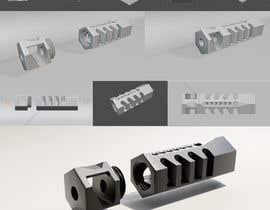 #74 cho Design 3 unique and effective muzzle brakes bởi BeregFILM