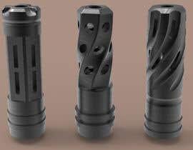 #47 cho Design 3 unique and effective muzzle brakes bởi Anandanjani1994
