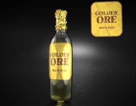 #807 for Golden Ore Wine Label af Cobot