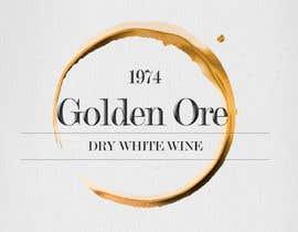 #817 for Golden Ore Wine Label af hristinalabus