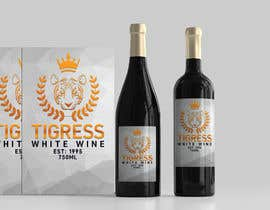 Nro 743 kilpailuun Tigress Wine Label Creation käyttäjältä nozrulislam2020