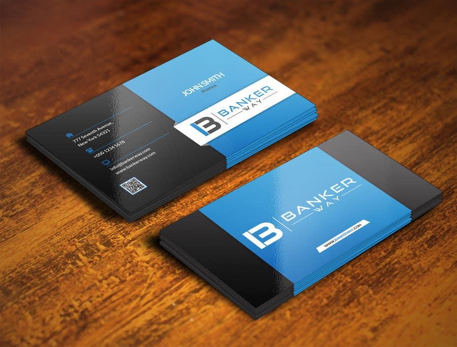 Inscrição nº 16 do Concurso para Design some Business Cards for Banker Way