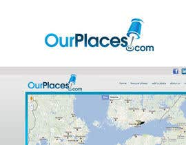 #150 Logo Customizing for Web startup. Ourplaces Inc. részére pinky által
