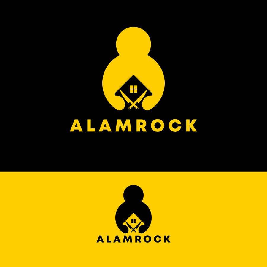 """Intrarea #                                        133                                      pentru concursul """"                                        Logo for my business - Alamrock                                     """""""