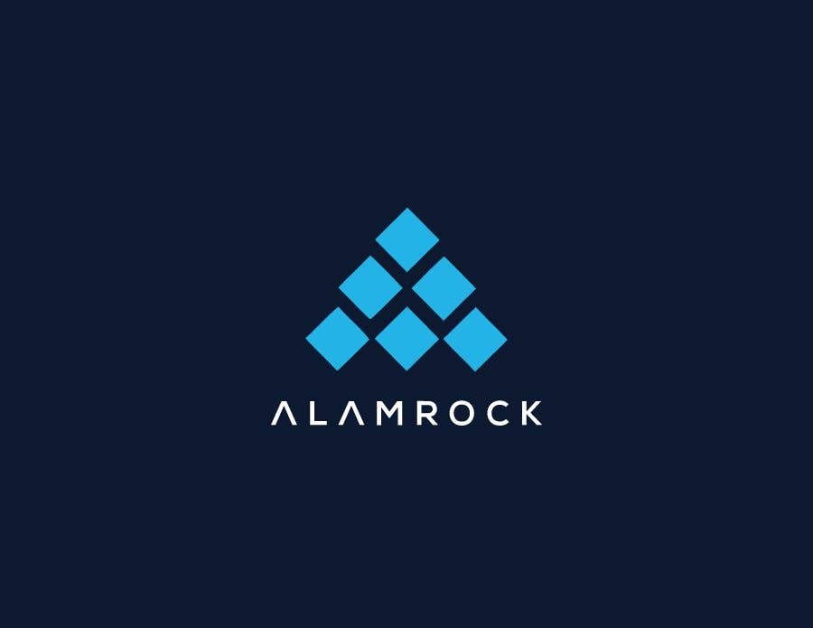 """Intrarea #                                        122                                      pentru concursul """"                                        Logo for my business - Alamrock                                     """""""
