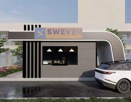 #70 para Design 3d drive-thru coffeeshop por yesanastudio7