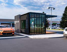 #101 para Design 3d drive-thru coffeeshop por yasinklptn