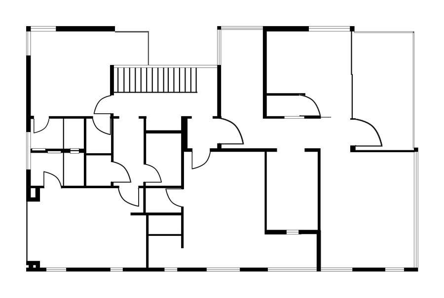 Konkurrenceindlæg #                                        7                                      for                                         Redraw two floor plans - first of many projects.