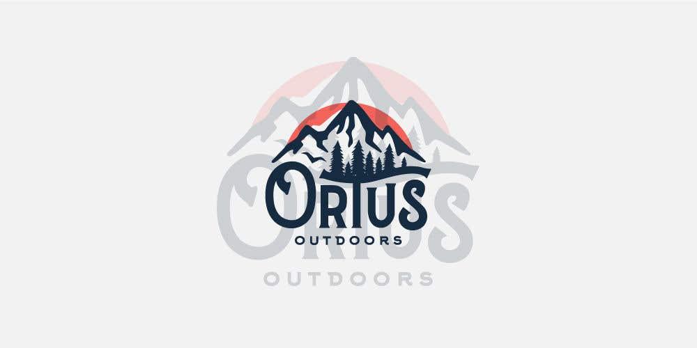 Kilpailutyö #                                        371                                      kilpailussa                                         Ortus Outdoors Logo