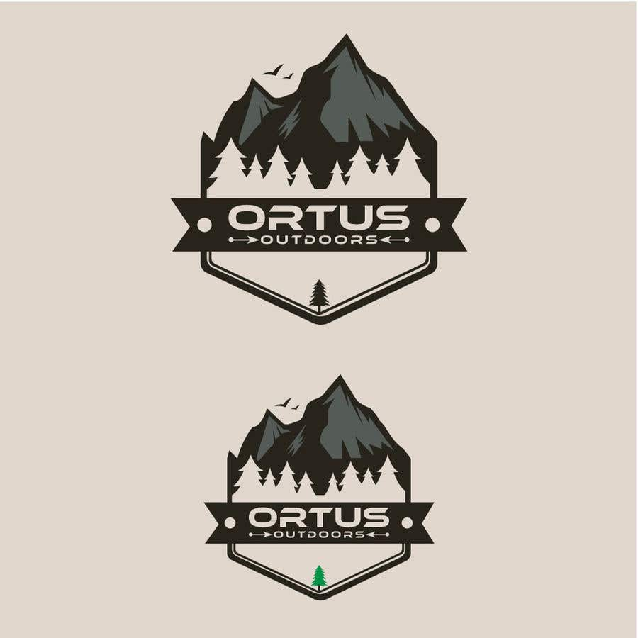 Kilpailutyö #                                        385                                      kilpailussa                                         Ortus Outdoors Logo