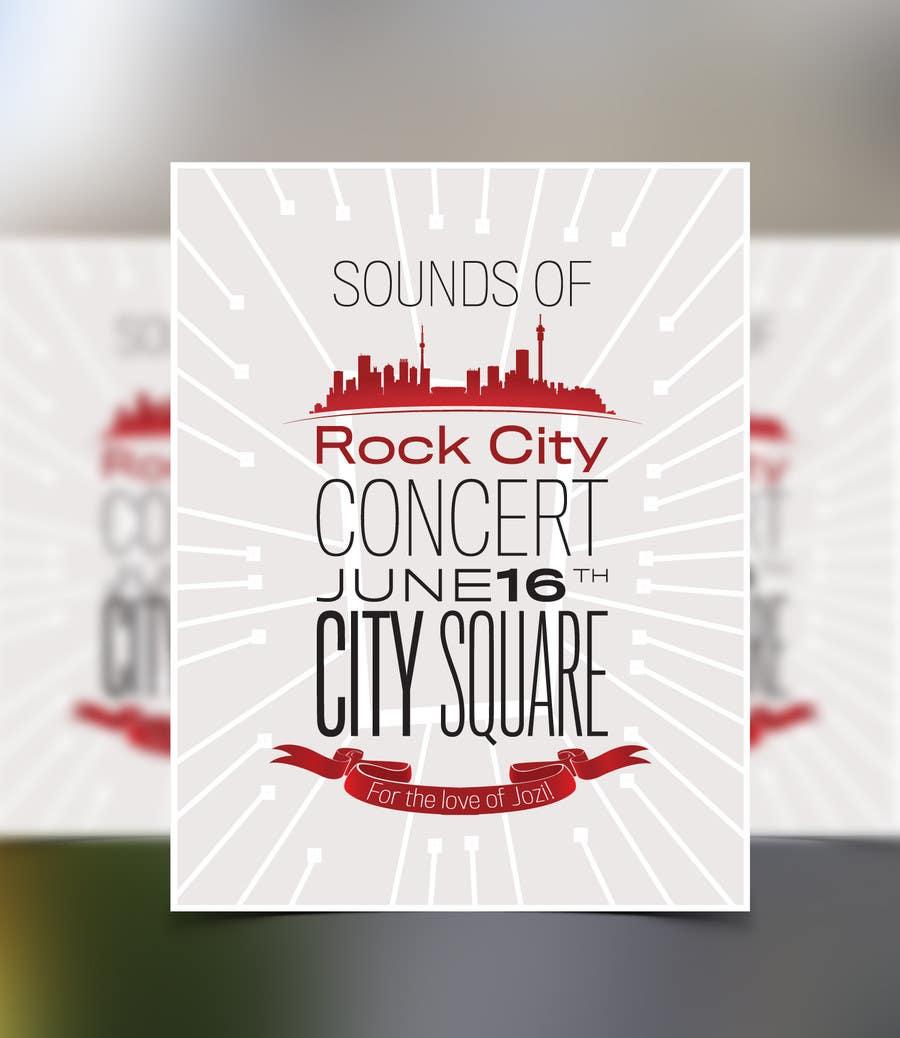 Kilpailutyö #81 kilpailussa I need some Graphic Design for Rock City