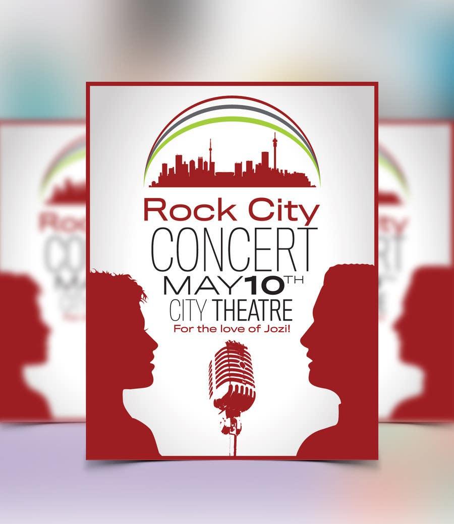 Kilpailutyö #99 kilpailussa I need some Graphic Design for Rock City