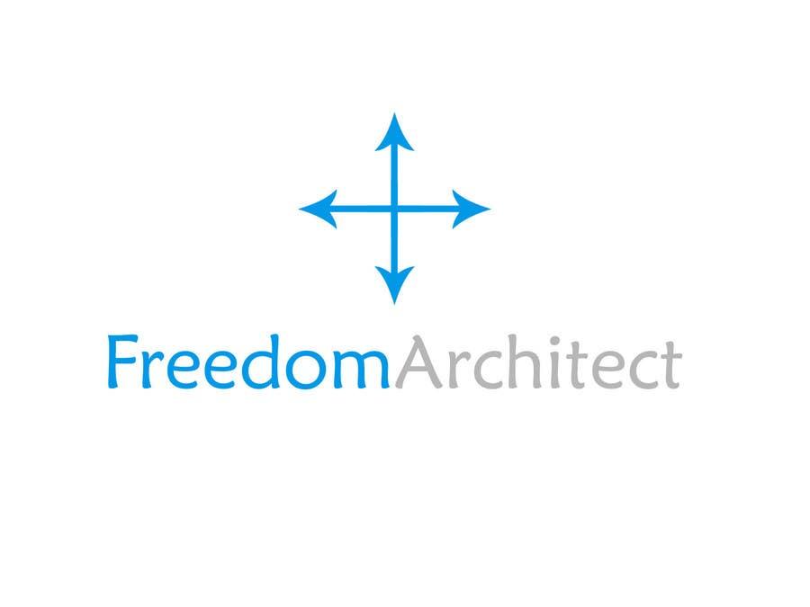 Inscrição nº                                         1                                      do Concurso para                                         Logo Design for Freedom Architect