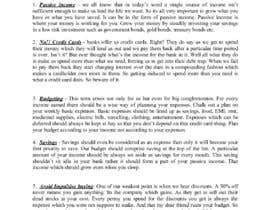 #19 for Write me personal finance articles af priyankadutt95