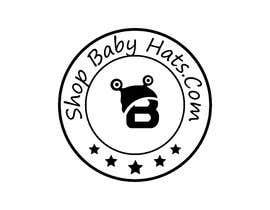 #225 untuk Logo for Website - ShopBabyHats.Com oleh mdibrahimjoy99