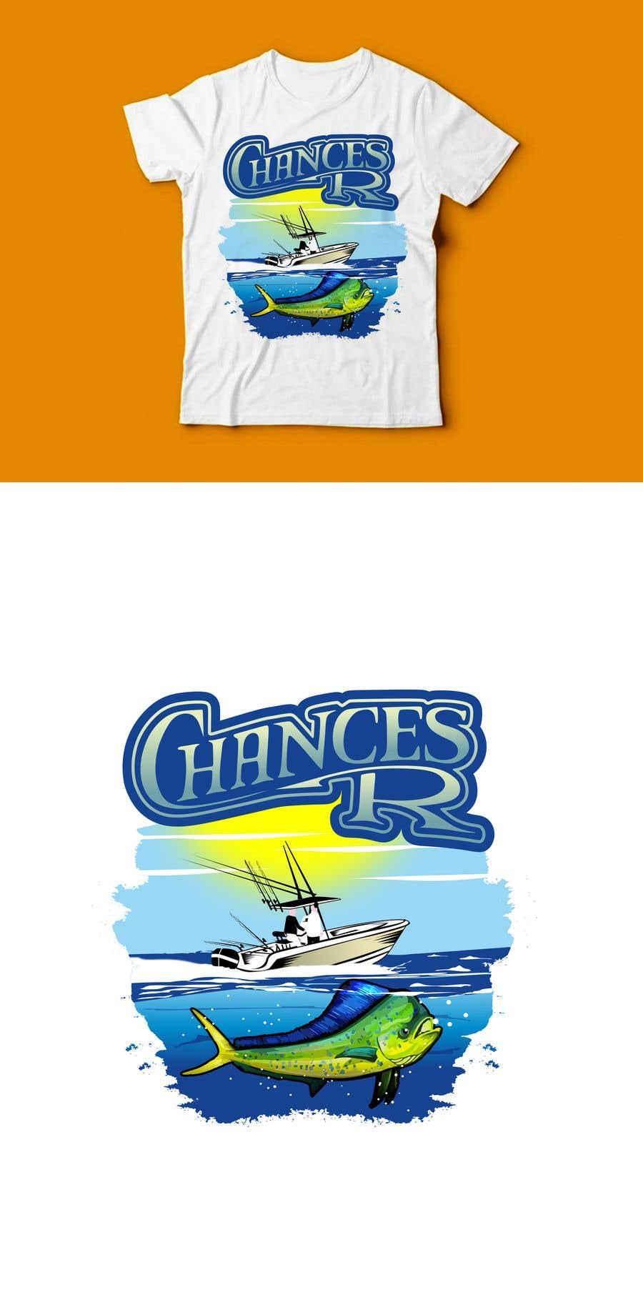 Kilpailutyö #                                        77                                      kilpailussa                                         Boat + Fishing Shirt Design