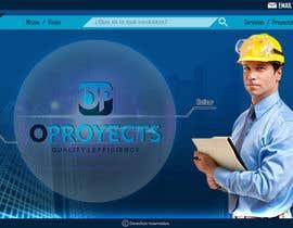 #40 for home (solo diseño)de una web de  empresa construcción y proyectos. Necesito transmitir seguridad, elegancia, profesionalidad adjunto imagen de logo.  Acepto modificaciones del estilo del logo by Olivaresmoy