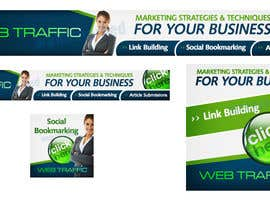 "#4 untuk Banner Ad Design for ""www.  webtraffic.  co"" oleh creationz2011"