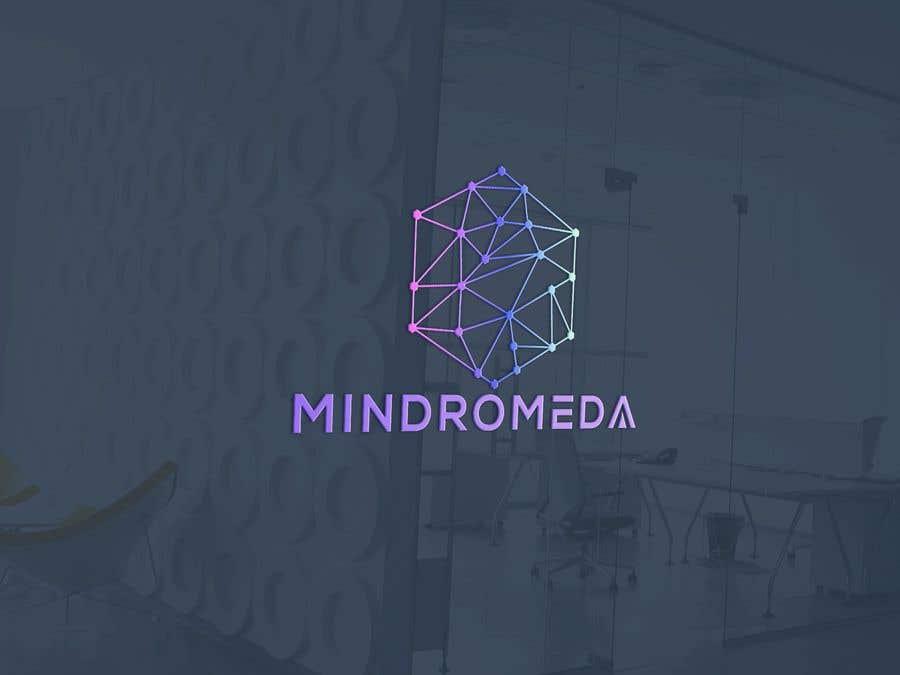 Proposition n°                                        261                                      du concours                                         Logo for Mindromeda