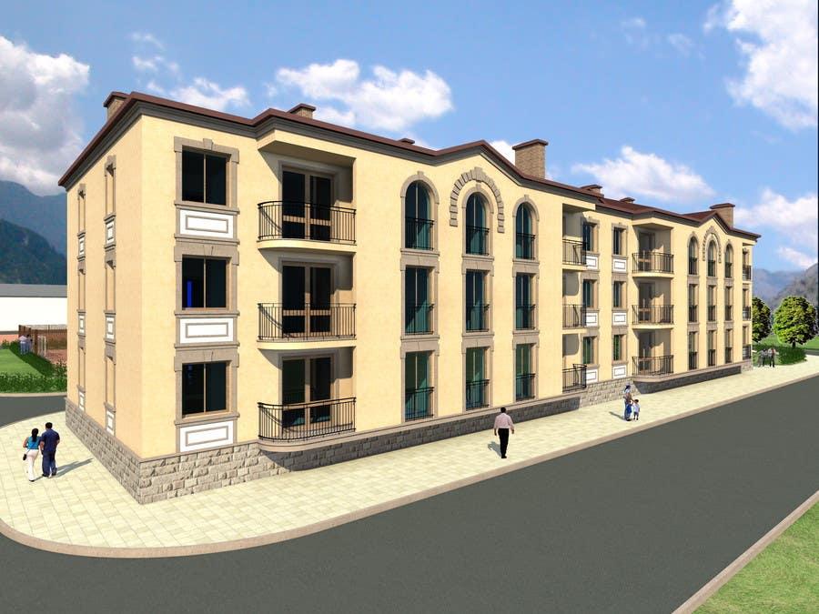 Proposition n°                                        64                                      du concours                                         Condominium Building Design