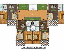 #87 untuk Condominium Building Design oleh apbarik