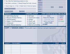 #42 for Redesign a PDF Order Form by clickgraphicsbd